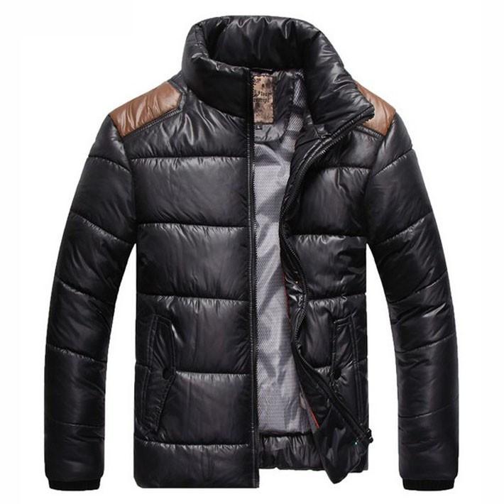 Мужской осенний пуховик. Мужская весенняя куртка. Модель - М20.