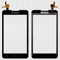 Сенсорный экран (touchscreen) для Lenovo A529, черный, оригинал
