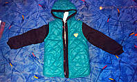 Куртка осень-весна на мальчика с капюшоном
