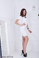 Елегантне плаття футляр з розкльошені короткими рукавами Ravi