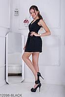 Симпатичне легке плаття-ліхтарик з V-подібним вирізом Queen