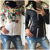 Куртка женская двухсторонняя ДГ/-к1