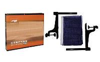 Сетка для настольного тенниса с винтовым креплением DHS MT-P203 (металл, NY, цвет карт. коробка)