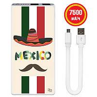 Универсальная мобильная батарея Мексиканец, 7500 мАч (E189-08), фото 1