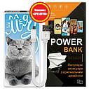 Мобильный аккумулятор Хитрый кот, 7500 мАч (E189-18), фото 6