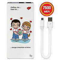 Зарядное устройство Love is, 7500 мАч (E189-22), фото 1