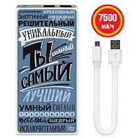 Дополнительный мобильный аккумулятор Ты самый, 7500 мАч (E189-36), фото 1