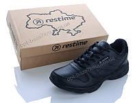 Кроссовки мужские Restime PMB20004 black (41-45) - купить оптом на 7км в одессе