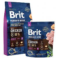 Brit Premium Adult S сухой корм для собак мелких пород , 8 кг