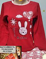 Пижама подросток для девушки Турция  Зайка от  12 до 16 лет