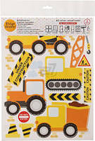 Декоративная наклейка Design stickers Строительство 29.7x42 см