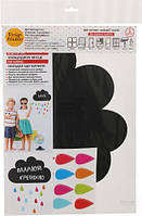 Наклейка для письма мелом Design stickers Облако 30x40 см