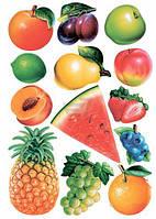 Декоративная наклейка Ассорти фруктов