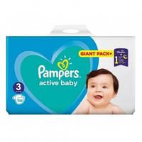 Подгузники Pampers Active Baby Giant Pack+ Midi 3 (5-9кг) 104шт