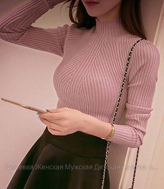 Женский свитер кашемир тонкий