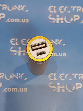 Внешний аккумулятор Power bank Xiaomi 2600mAH  б.у, фото 2