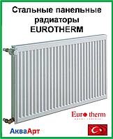 Стальной панельный радиатор  Eurotherm 11k 500*800 б.п.
