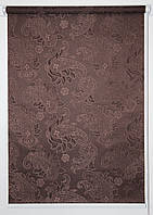 Рулонная штора 625*1500 Арабеска 2261 Коричневый, фото 1