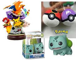 Коллекционные фигурки Фанко Поп Funko Pop и мягкие игрушки Покемон Го Pokemon Go