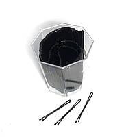 Невидимки для волос DenIS professional в стакане - ровные 5, фото 1