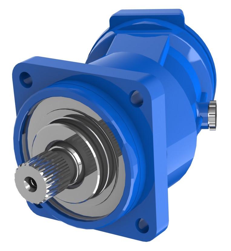 Гидромотор A2FM56/61W-VZB191 BOSCH REXROTH