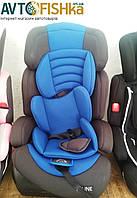 Детское авто-кресло N-LINE KINDERSAFETY  3 в 1   цвет: СИНИЙ