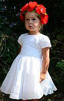 Нарядное шифоновое платье для девочки на 1-2 года, фото 1