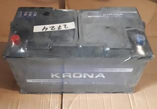 Акумулятор 6СТ 90А3Г (1) плюс зліва Krona