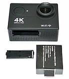 Подводная Экшн камера Action Camera B5 WiFi 4K с хорошим качеством съемки, фото 8