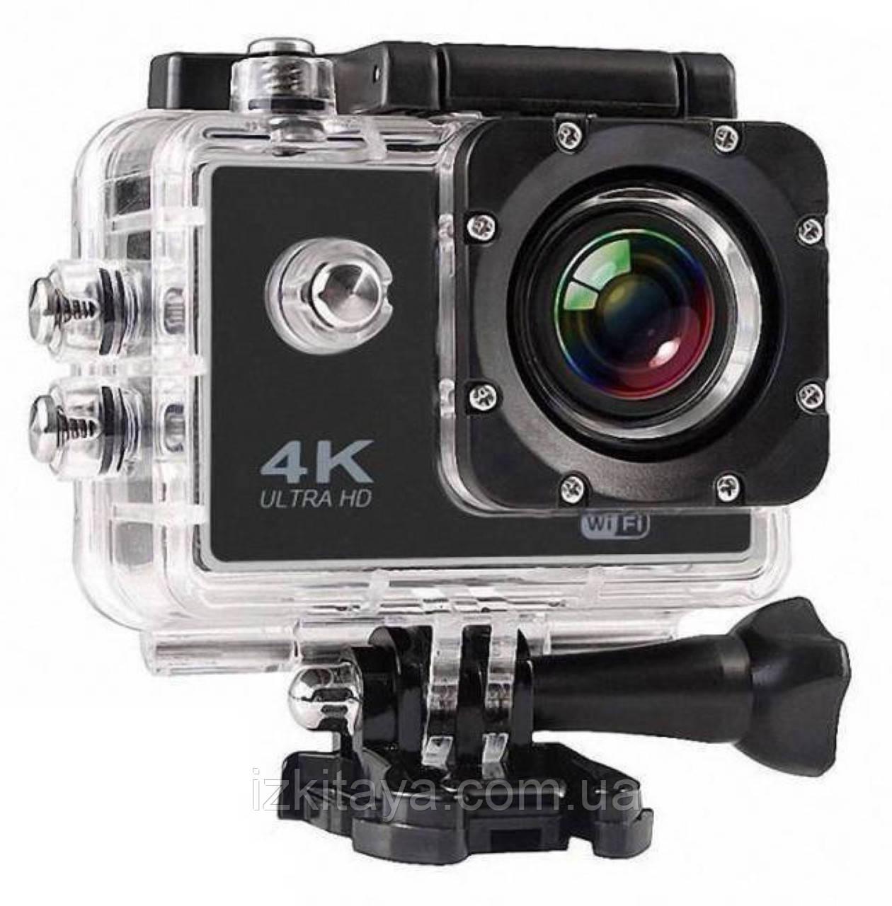 Туристическая подводная Экшн камера Action Camera S2 WiFi 4K
