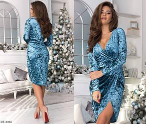 Красивое женское платье мраморный велюр.Размеры: 42, 44, 46