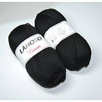 Пряжа Lanoso Enna 960 черная