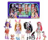 Набор из 4-х кукол Enchantimals FTN36, фото 1