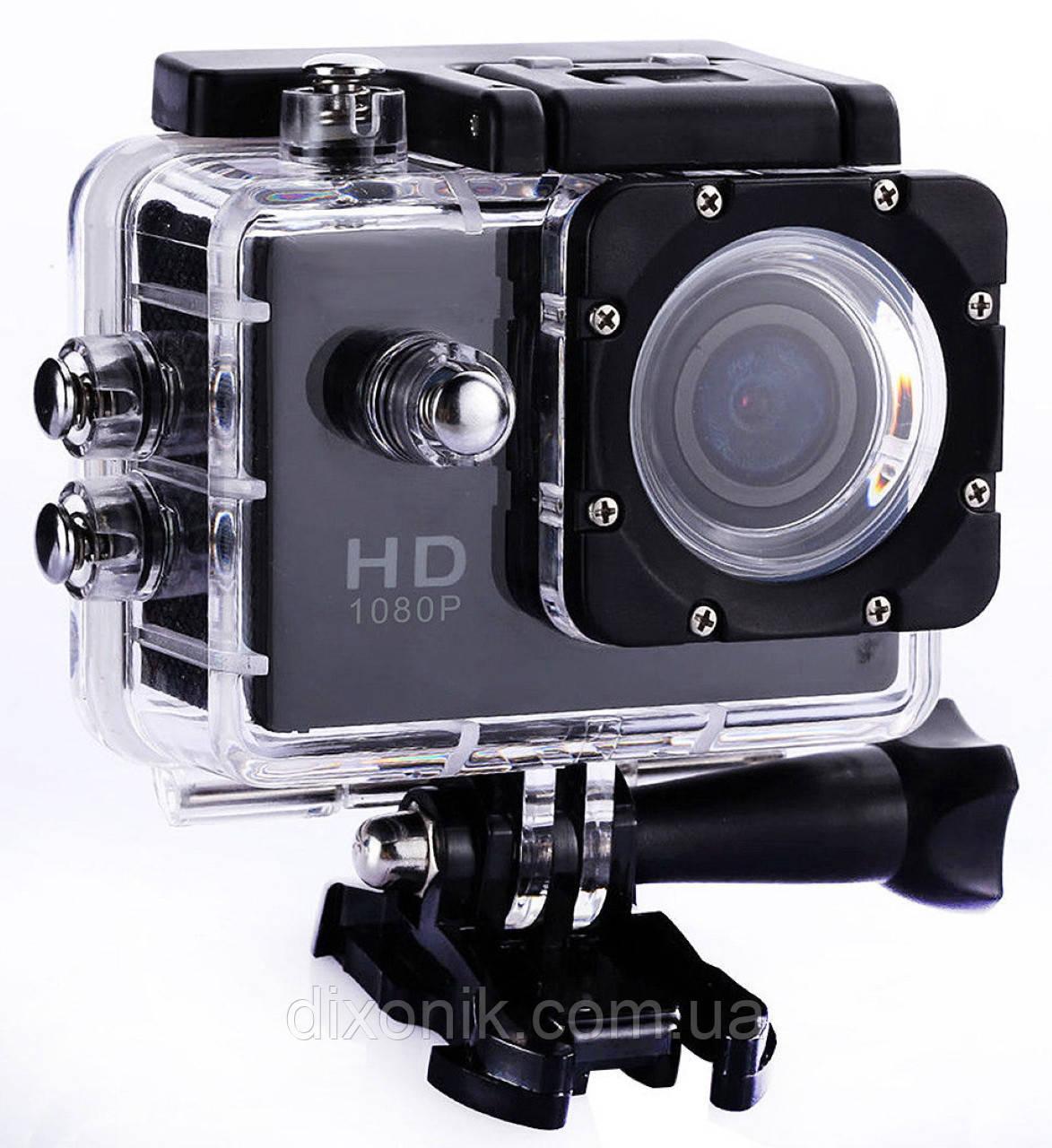 Туристическая Экшн камера Action Camera D600 Full HD для подводной съемки