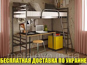 Двухъярусная металлическая кровать - чердак ФЛАЙ ДУО ЧЕРДАК , фото 2