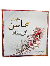 Бахур Ard al Zaafaran Bukhoor Mahasin Crystal приятный женский аромат, сладковатый 40 грамм