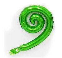 Шарик для декора в виде спирали зеленой 43х27 см