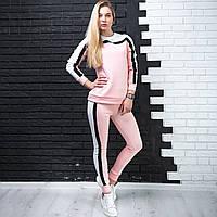"""Женский спортивный с лампасами """"Персик"""""""