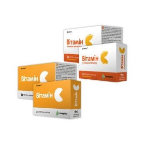 Витамин  С таблетки жевательные 500мг №56, фото 2
