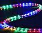 Гирлянда дюралайт | светодиодная лента | круглый шланг 7189, RGB, 10м с контролером на 220в (Микс), фото 5