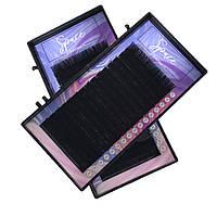 Ресницы Space lashes MIX 0.10 CC - (7-14)мм