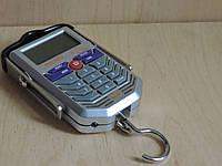 Весы электронные карманные (кантер / безмен) 50 кг. с детектором подлинности денег., фото 1