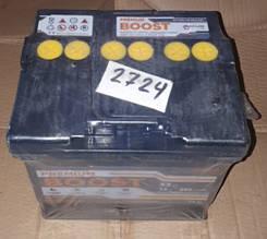 Акумулятор 6СТ 52А3Г (1) плюс зліва Boost Premium
