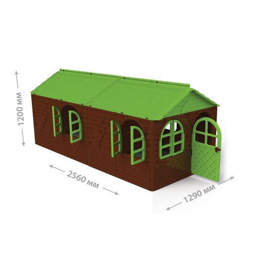 "DOLONI-TOYS ""Будинок со шторками"" 02550/24,домик,дом"