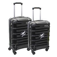 Набор пластиковых чемоданов 2в1, фото 1