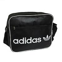 Молодежная сумка-планшет Adidas реплика кожзам горизонтальная, фото 1