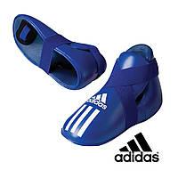 Киксы для кикбоксинга Adidas Blue (ADIBP04)