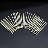 Набор алмазных буров 30 шт для гравера, шлимашына ( Dremel )