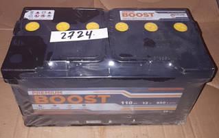 Аккумулятор 6СТ 110А3Г (1) плюс слева Boost Premium