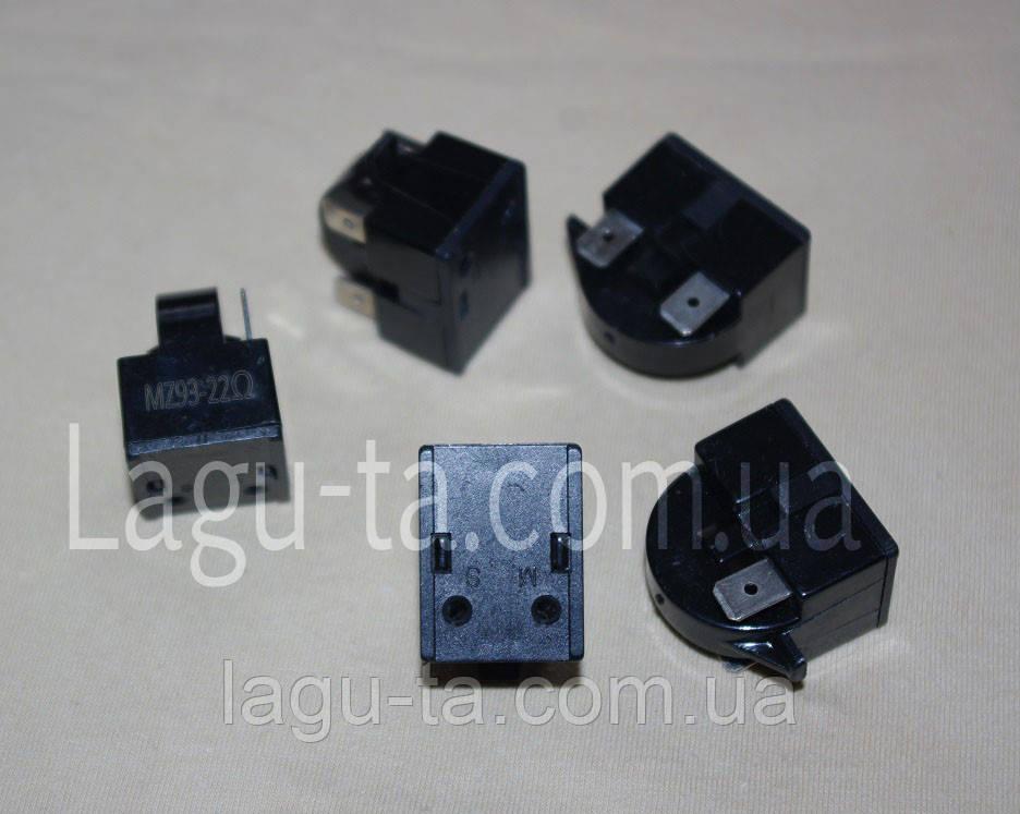 Реле пусковое 22ом 3 pin для компрессора холодильников корейского производства. DA35-00099A